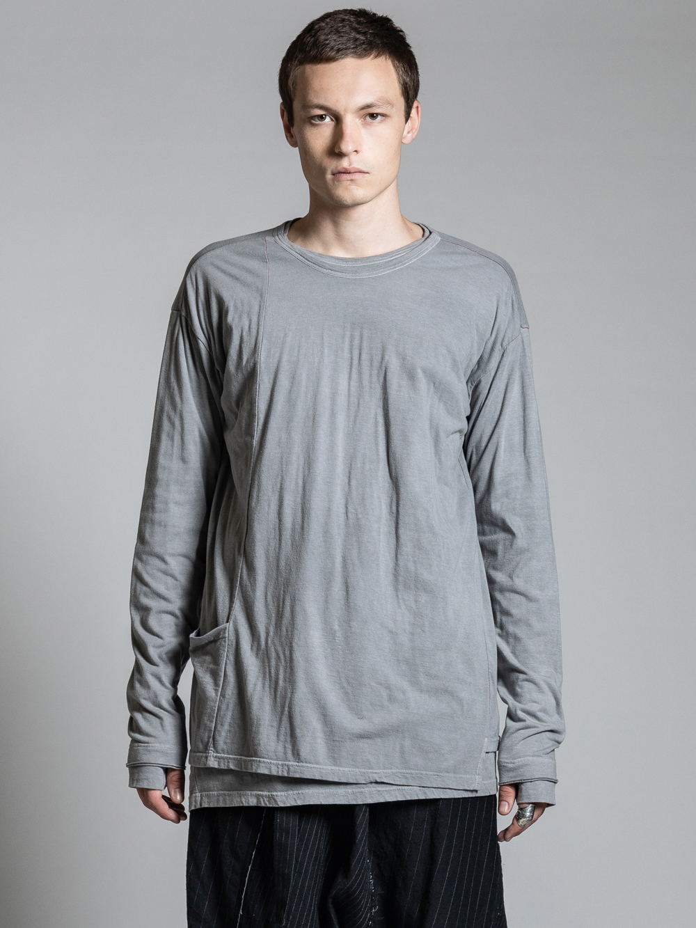VI-2982-01 / レイヤード 長袖Tシャツ