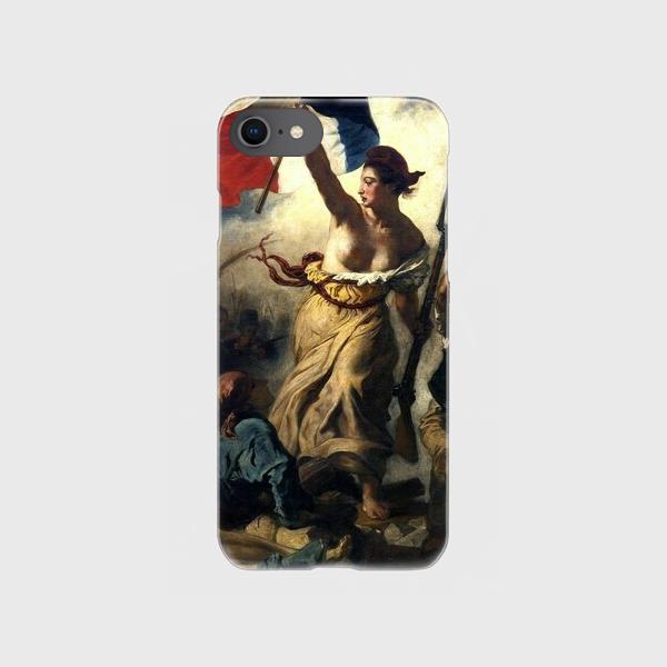 ドラクロワ「民衆を導く自由の女神」 スマホケース