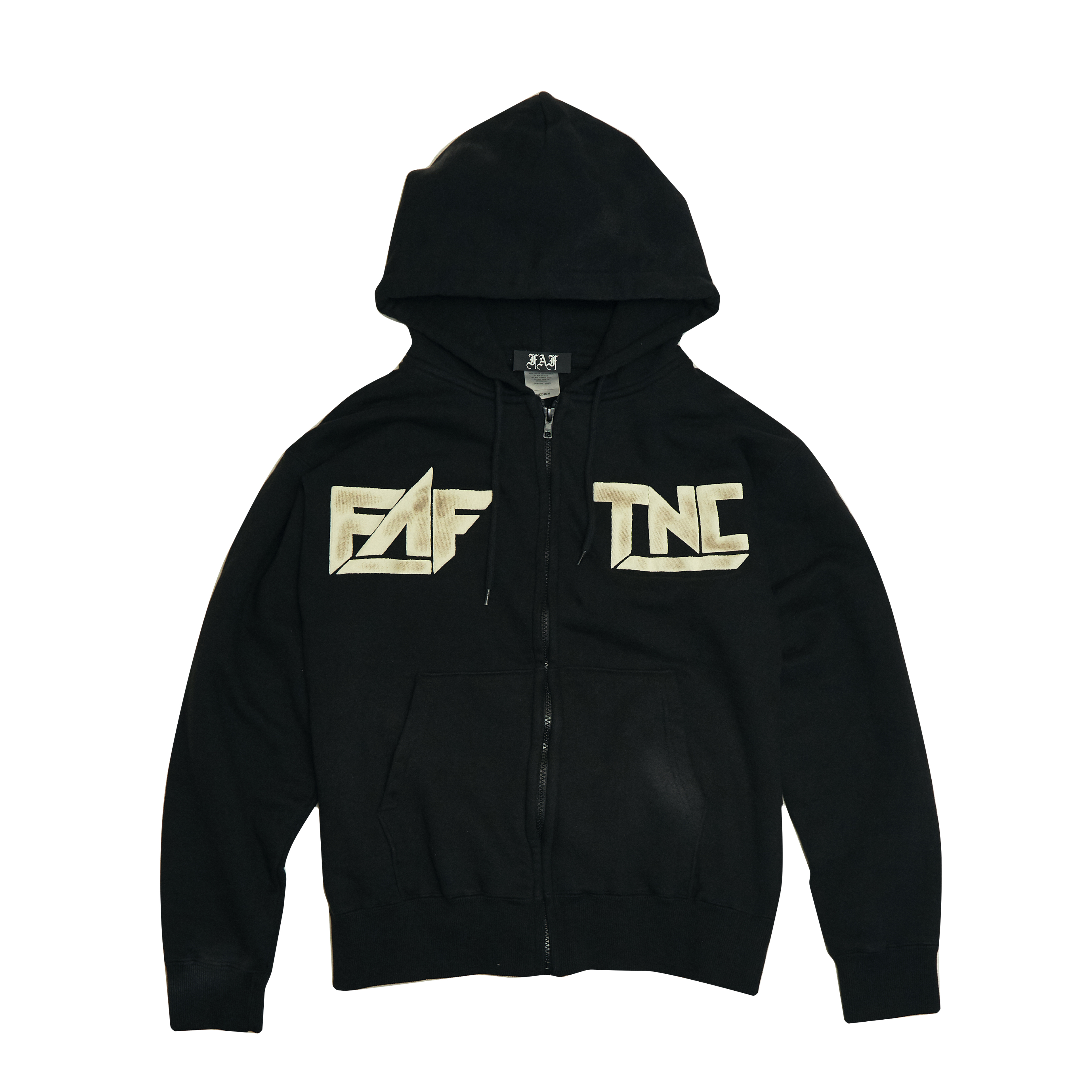 Sosa zipup hoodie -Black- - 画像1