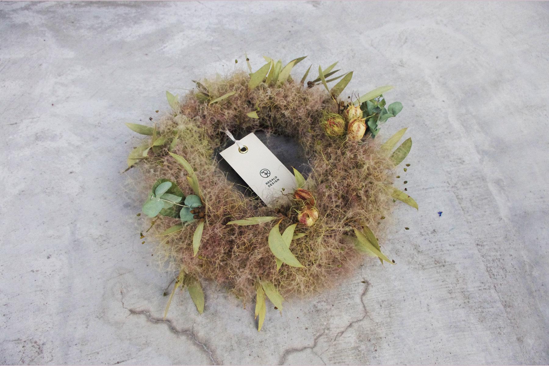 Smoketree wreathe | スモークツリーリース