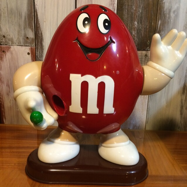 1992年製m&m'sチョコレートディスペンサー