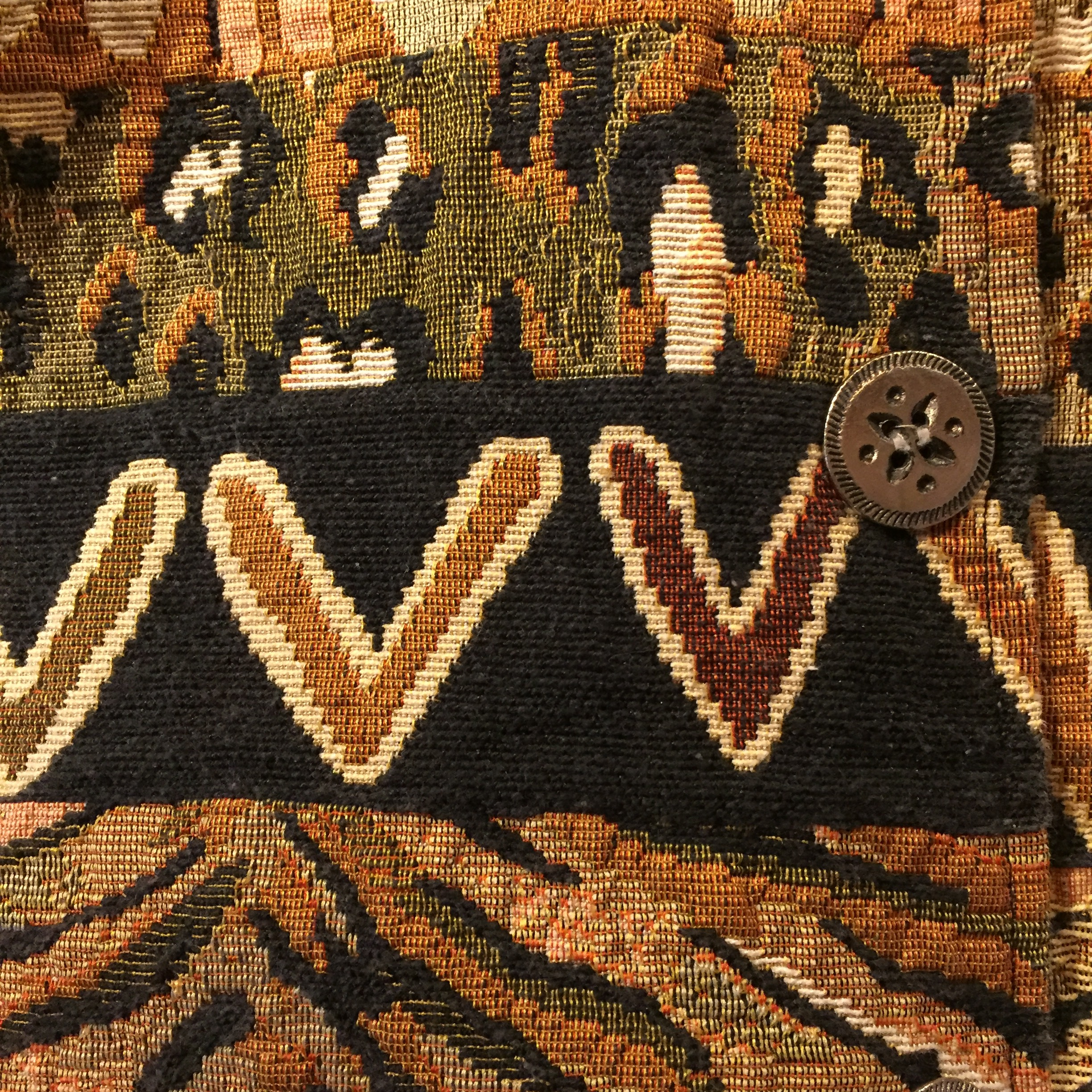 vintage tapestry over sized outer