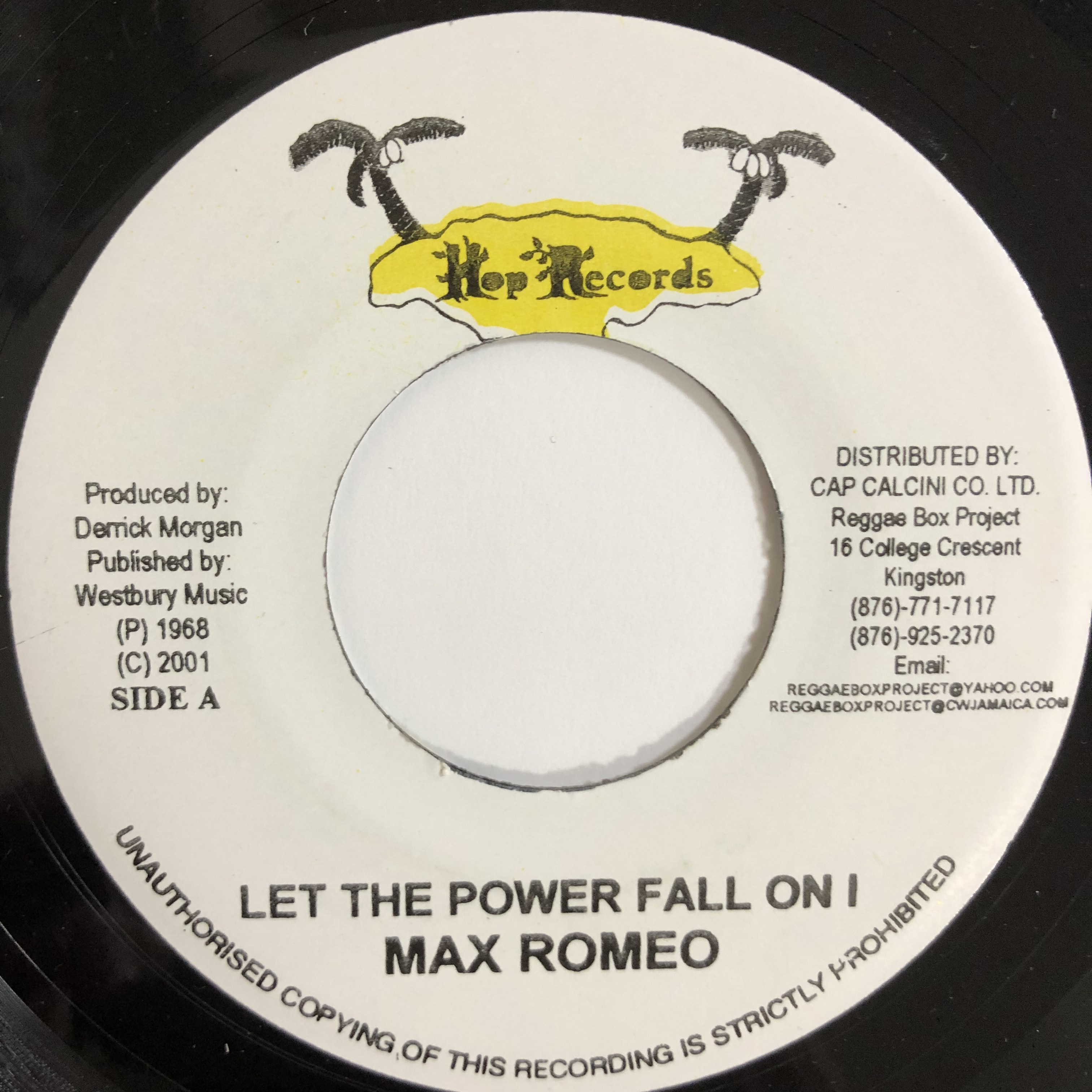 Max Romeo(マックスロメオ) - Let The Power Fall【7-20199】
