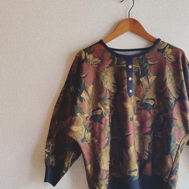 【SALE】vintage dolman design tops