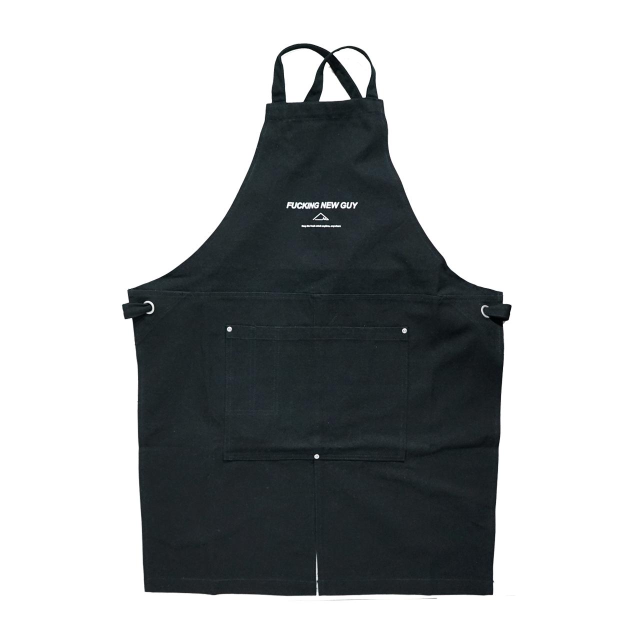 F.N.G /canvas apron (Black×White) - 画像1