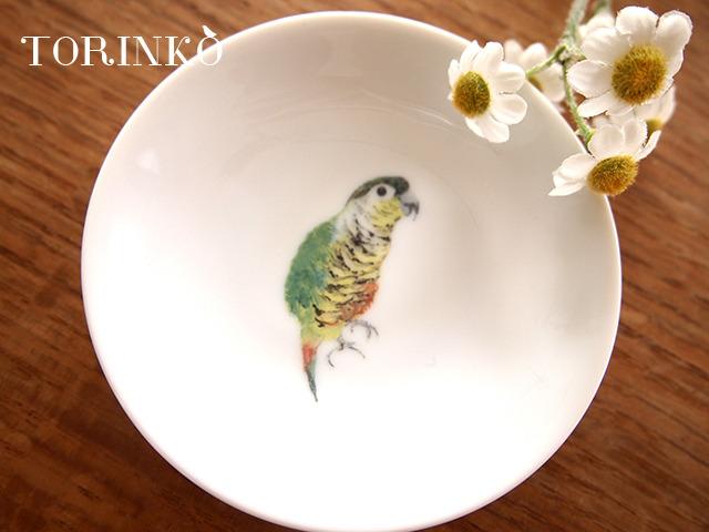 ウロコインコ お皿 小サイズ(インコ・オウム・鳥)