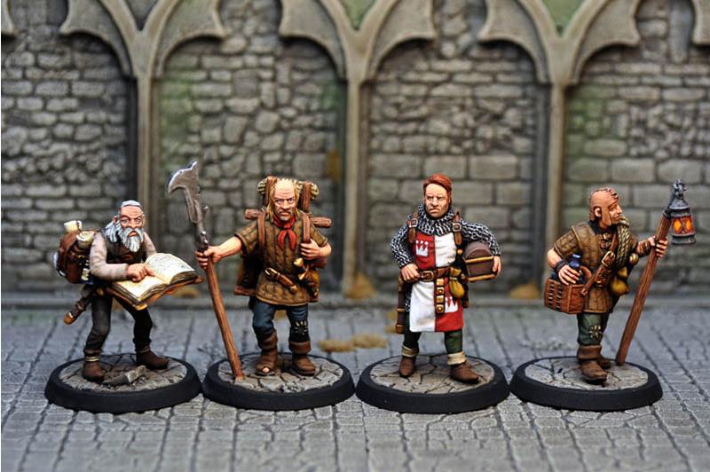 従者と傭兵たち(12体ボックスセット) - 画像2