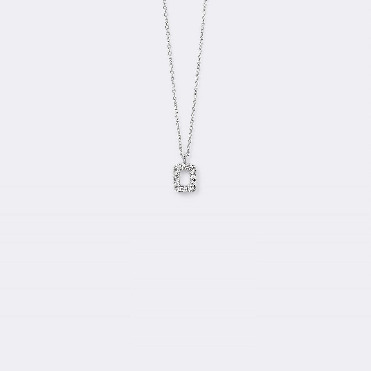 Pietra Necklace K18WG(ピエトラネックレス K18ホワイトゴールド)