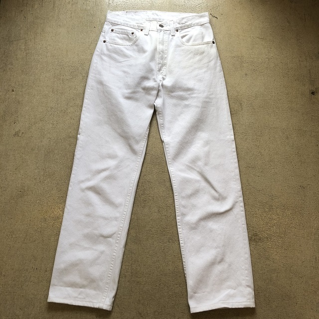 LEVI'S 505 WHITE MADE IN USA #BT-118