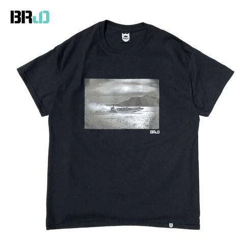 BRJD TEE #2 - BLACK/MONOCHROME