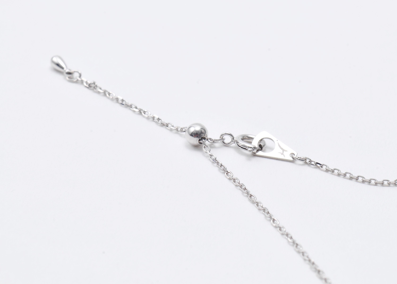 チェーン変更・ニッケルフリーロジウムコーティング仕様/silver925