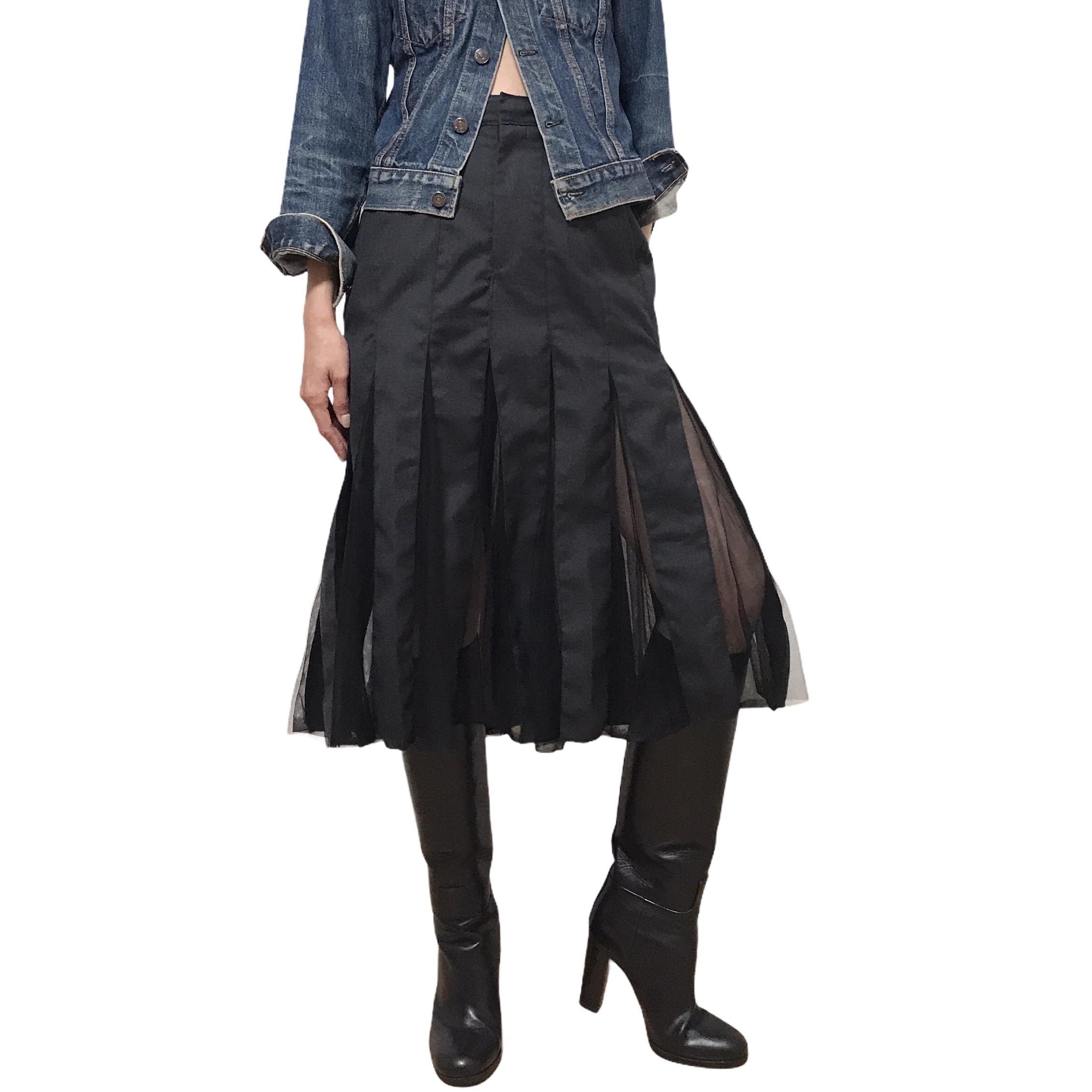 LIOT German Military Deep Slit Skirt