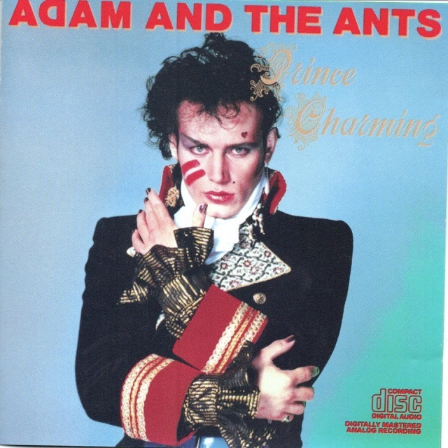 【CD・米盤】Adam and The Ants / Prince Charming