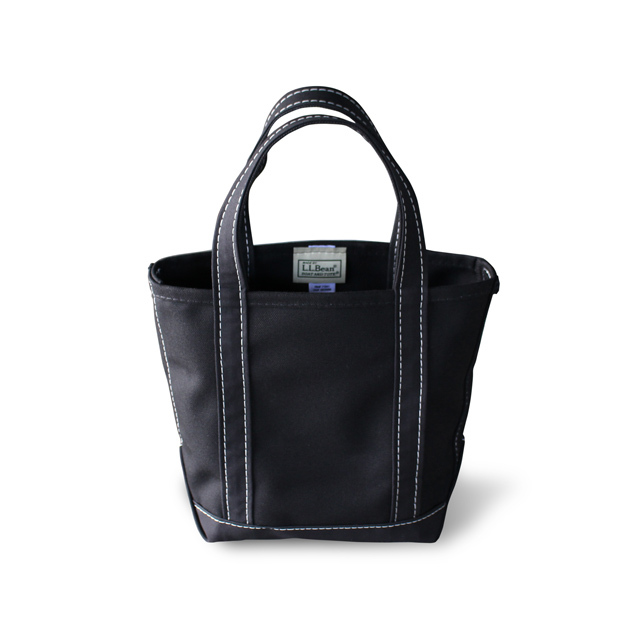 L.L.Bean Boat and Tote -Small- [オールブラック] <日本未発売>
