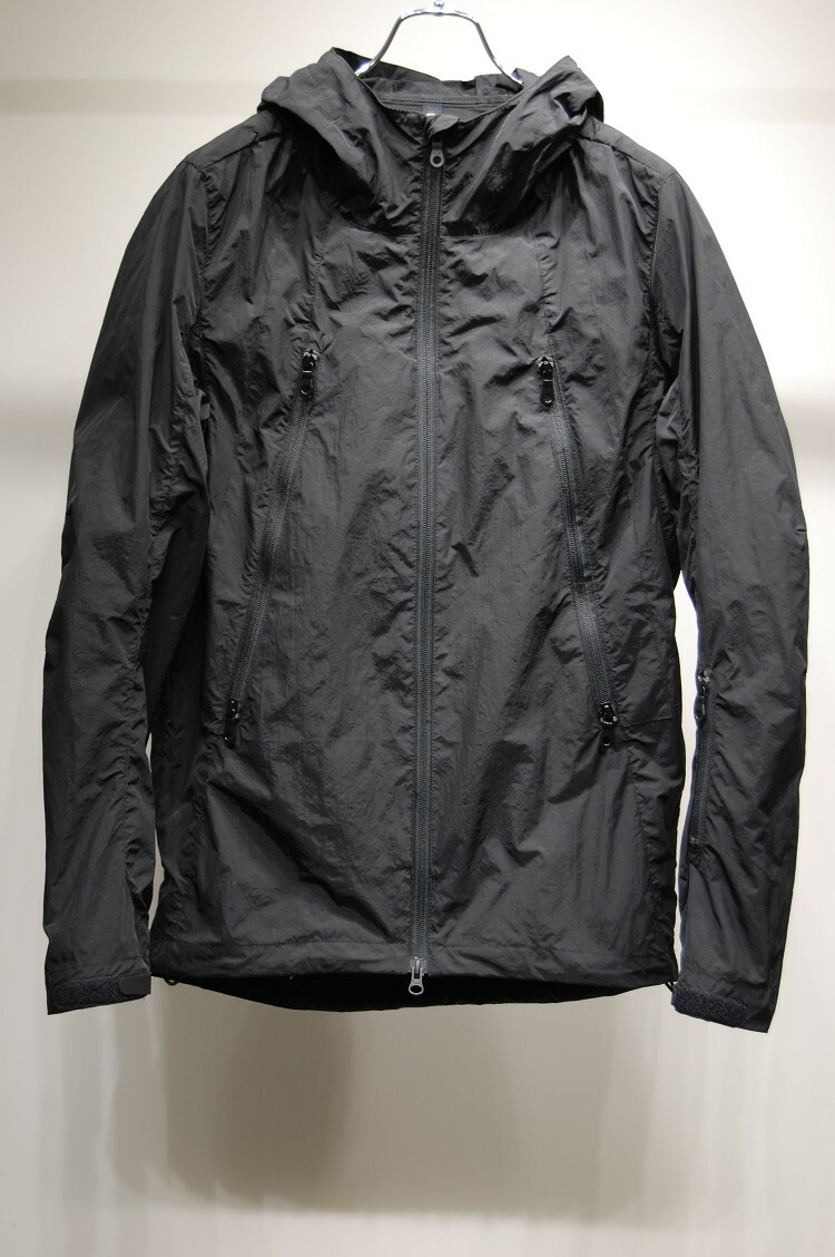 RW-148 ANORAK MOUNTAIN BLACK