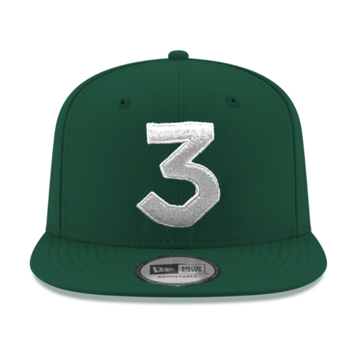 Chance 3 New Era Cap (GREENxSILVER)