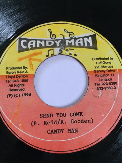 Candy Man(キャンディーマン) - Send You Come【7'】