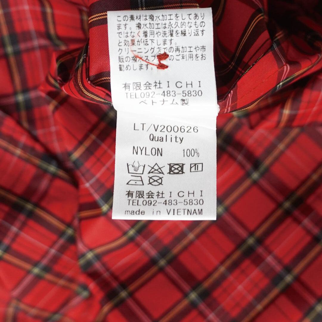 ichi イチ 撥水加工レインコート (品番200626)