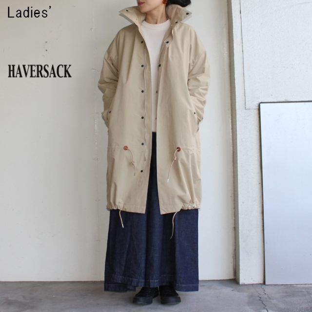 HAVERSACK ウェザークロスコート Weather Cloth Coat 671800 (BEIGE)