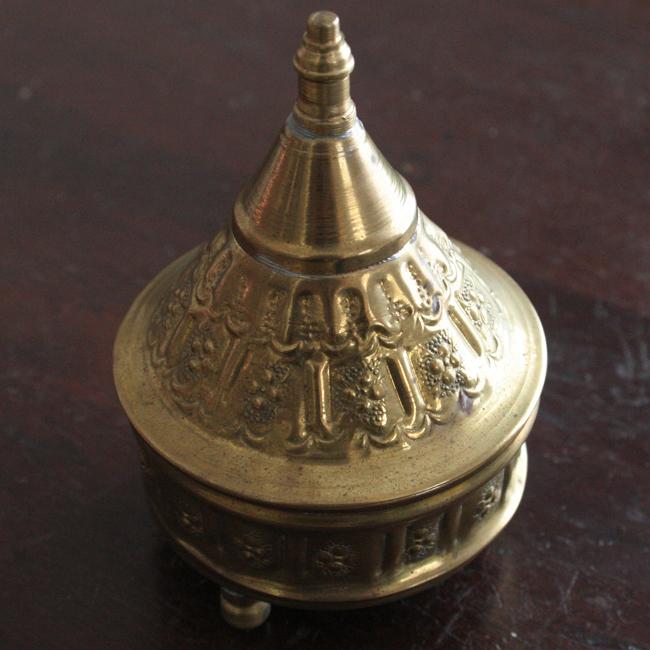 真鍮ゴールド小物入れ /69/ Morocco モロッコ