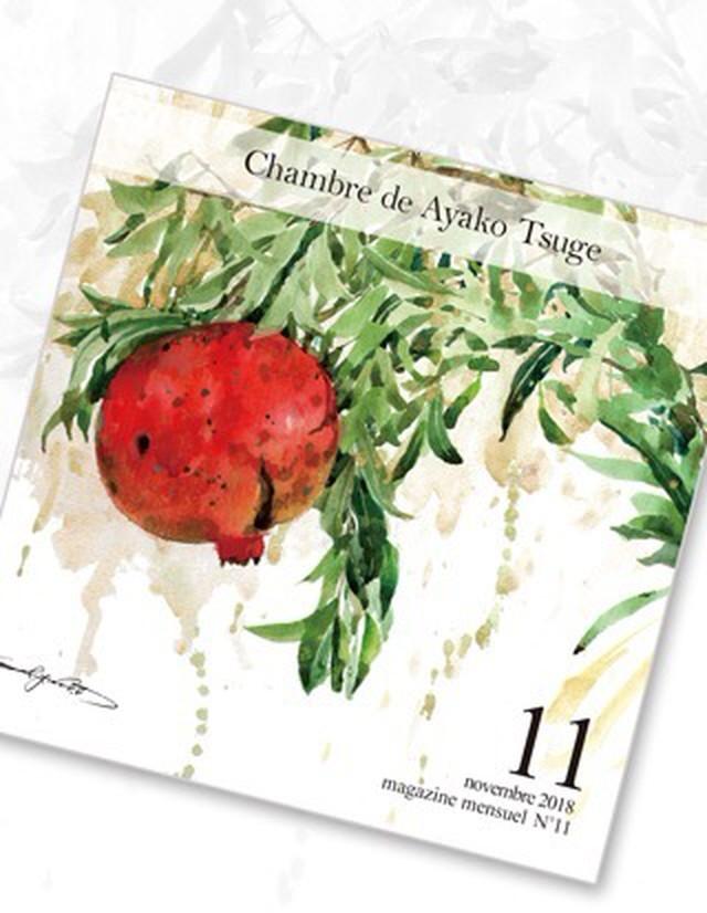 【受注生産】バックナンバー Chambre de Ayako Tsuge2018年11月号