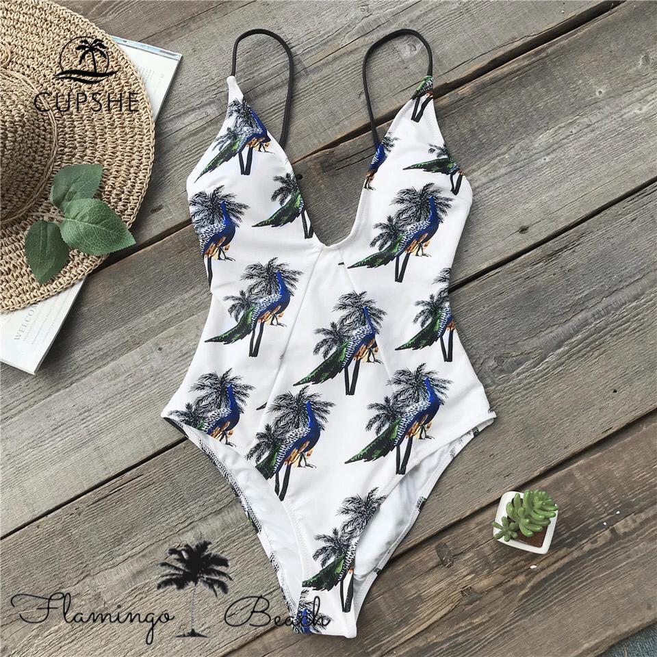 【FlamingoBeach】bird monokini