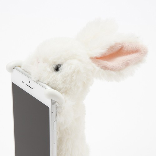 ZOOPY ウサギ ホワイト 【6sPlus/6 Plus/7Plus/8Plus】