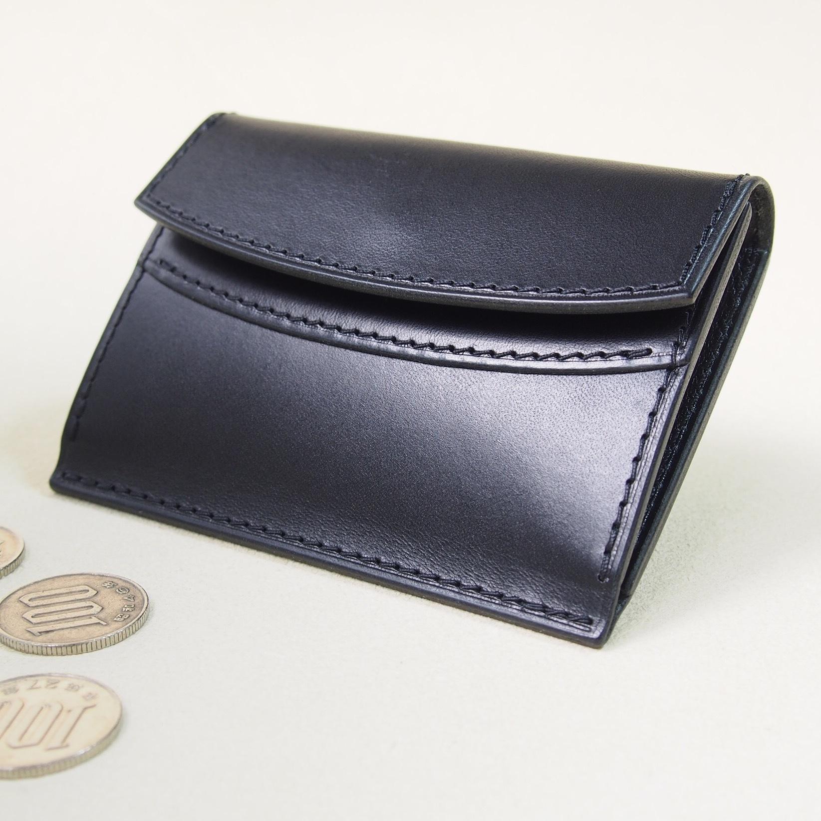お財布みたいなコインケース#ブラック