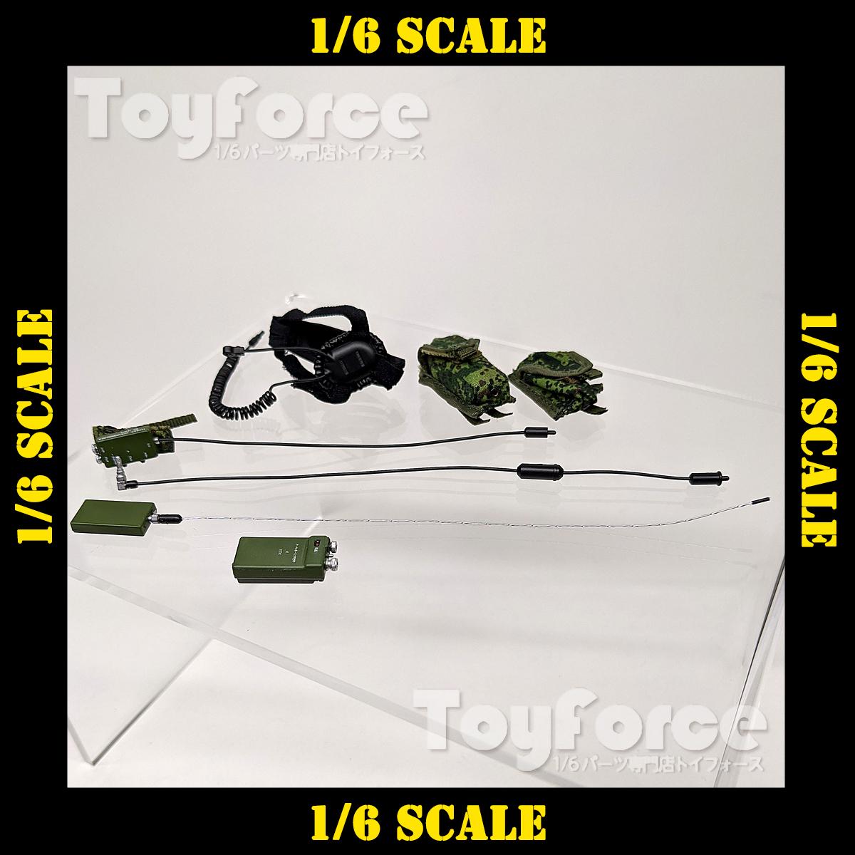【05989】 1/6 DamToys P-168 無線機