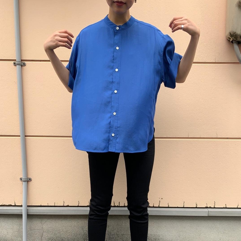 【 CYNICAL 】- 012 - 95071 - バンドカラーロールアップシャツ