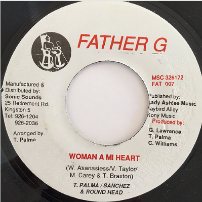 Triston Palmer , Sanchez , Round Head - Woman A Mi Heart【7'】