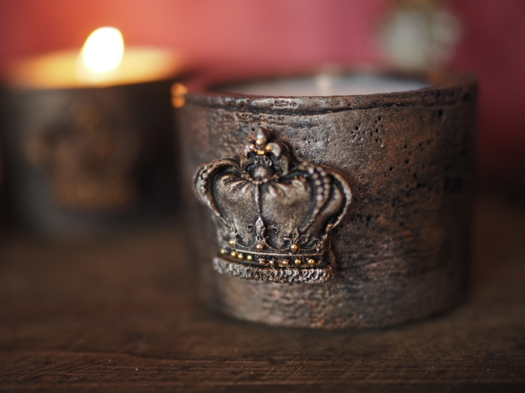 Vintage candle  7