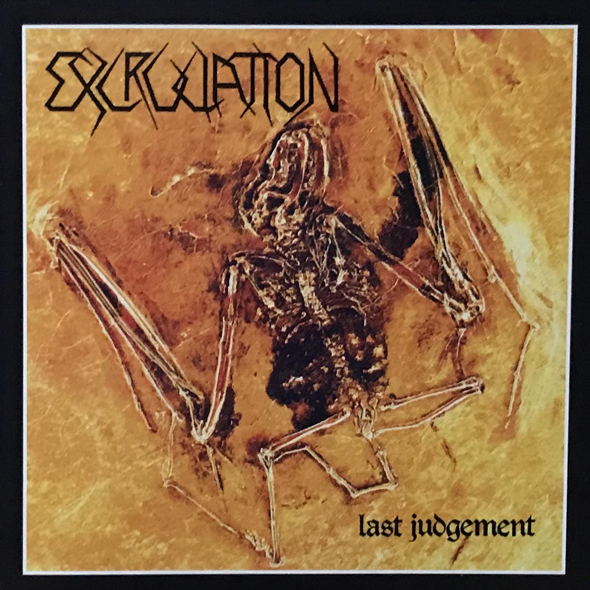 "EXCRUCIATION ""Last Judgement + Demos Official CD"""