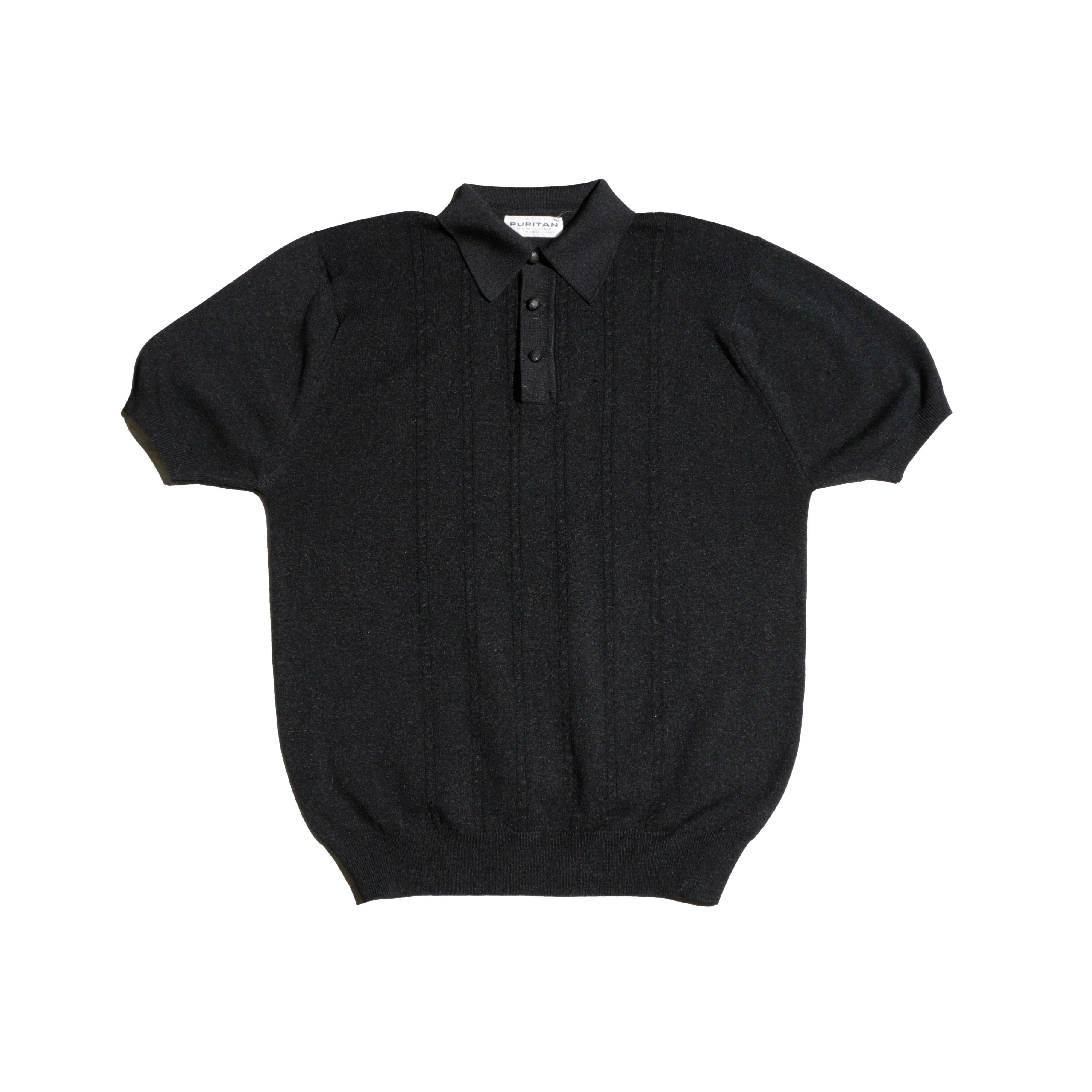 PURITAN 60sVintage HalfSleeveKnitPoloShirts