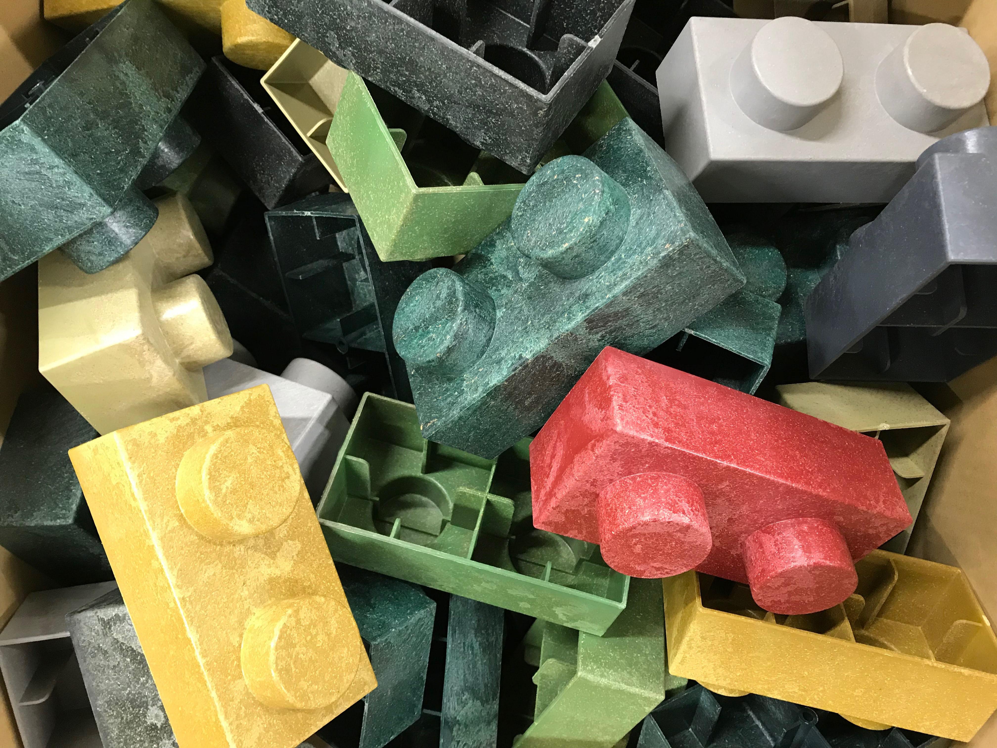 【数量限定】レンブロック 特色カラー詰め合わせ 60個入り