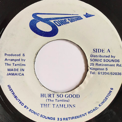 The Tamlins(タムリンズ) - Hurt So Good【7inch】