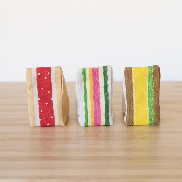 三角のサンドイッチポーチ 第1弾