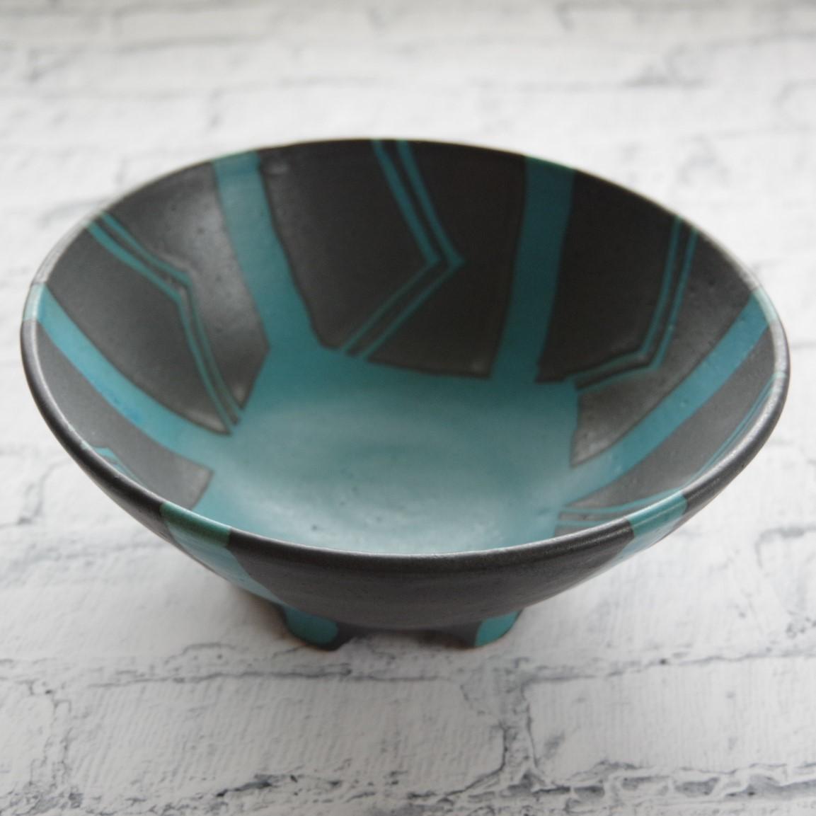 やちむん【南陶窯】6寸鉢