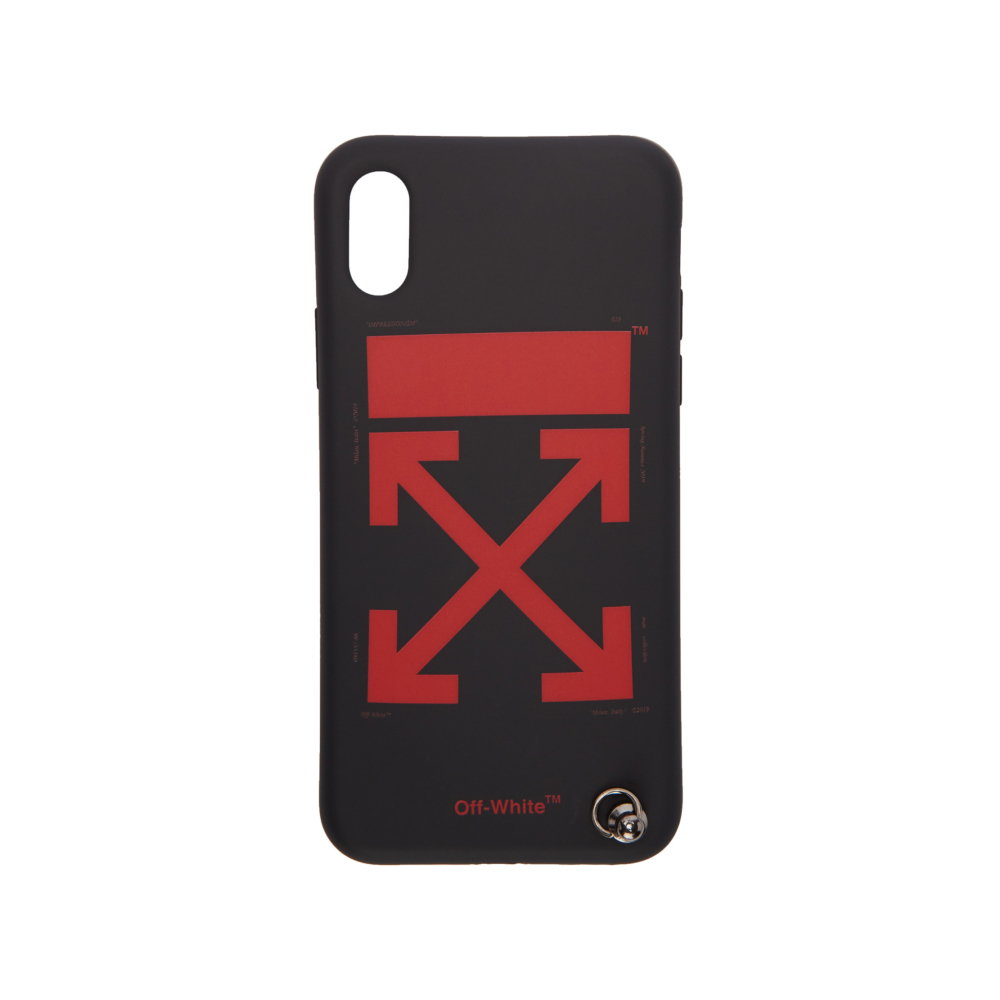 Off-White™  /  Arrow iPhone X case / BLACK / 2019SS
