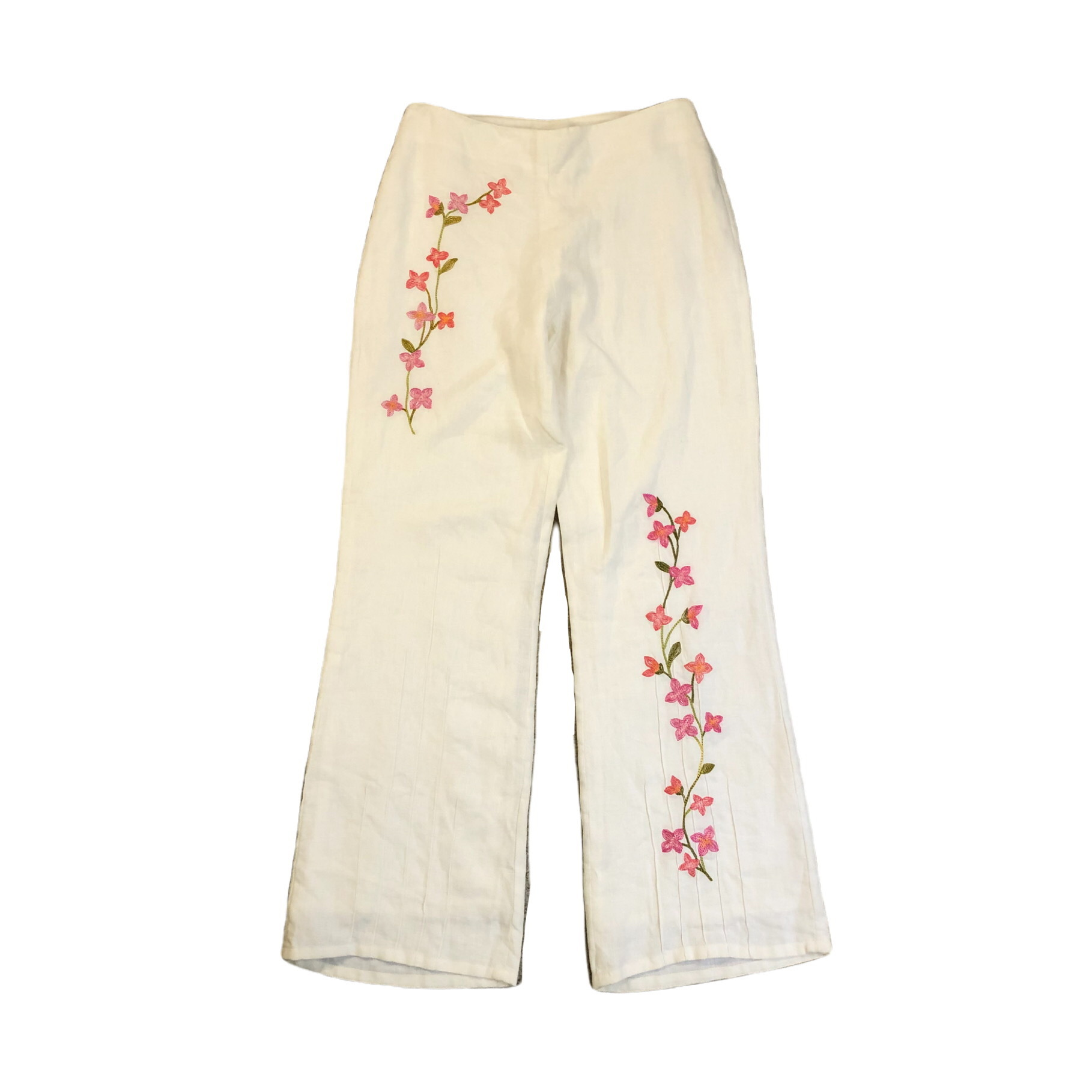 Embroidery Flare Pants ¥7,200+tax