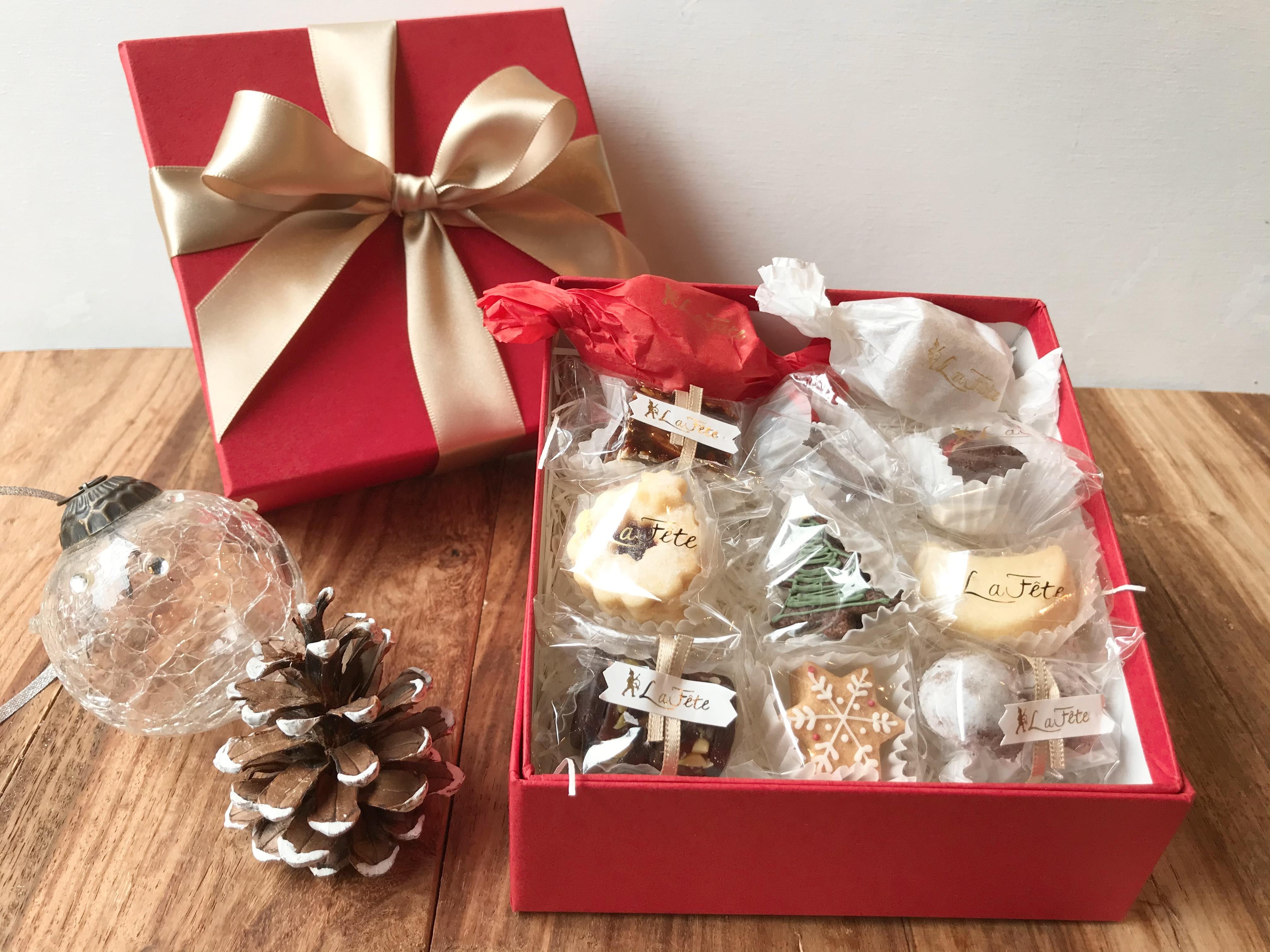 世界のお祝い クリスマスクッキーBOX