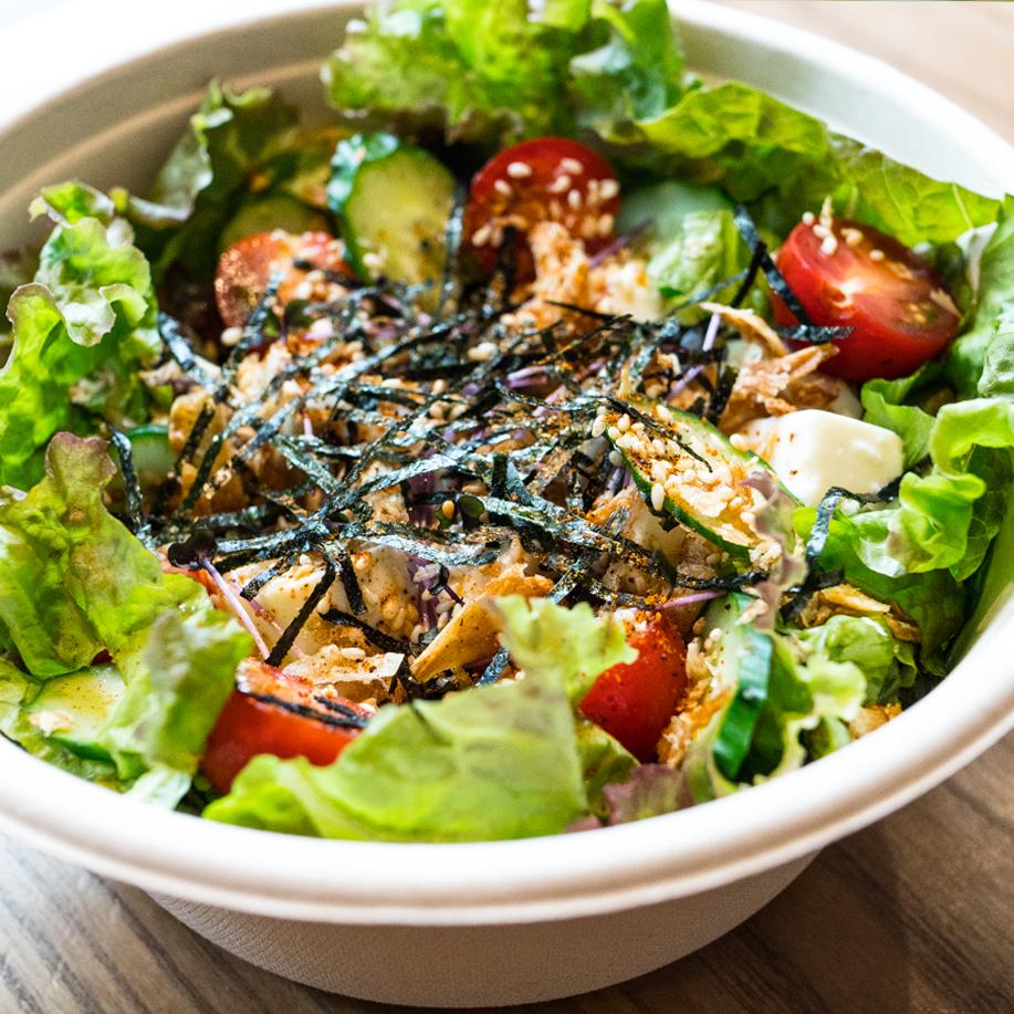 [ サイドメニュー ] 豆腐サラダ / Tofu salad / 豆腐生菜沙