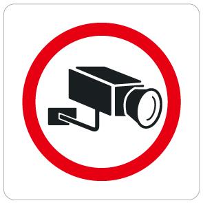 """004 防犯カメラ """"California Market Center"""" アメリカンステッカー スーツケース シール"""