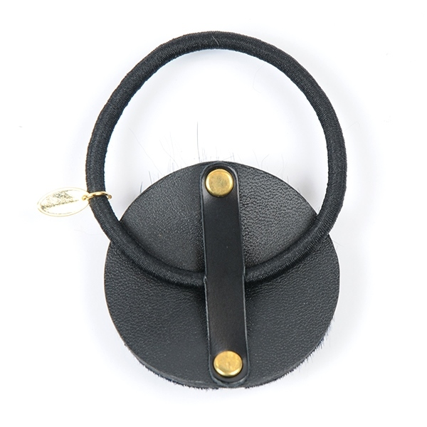Joe17SS-25 button leather gom (black)