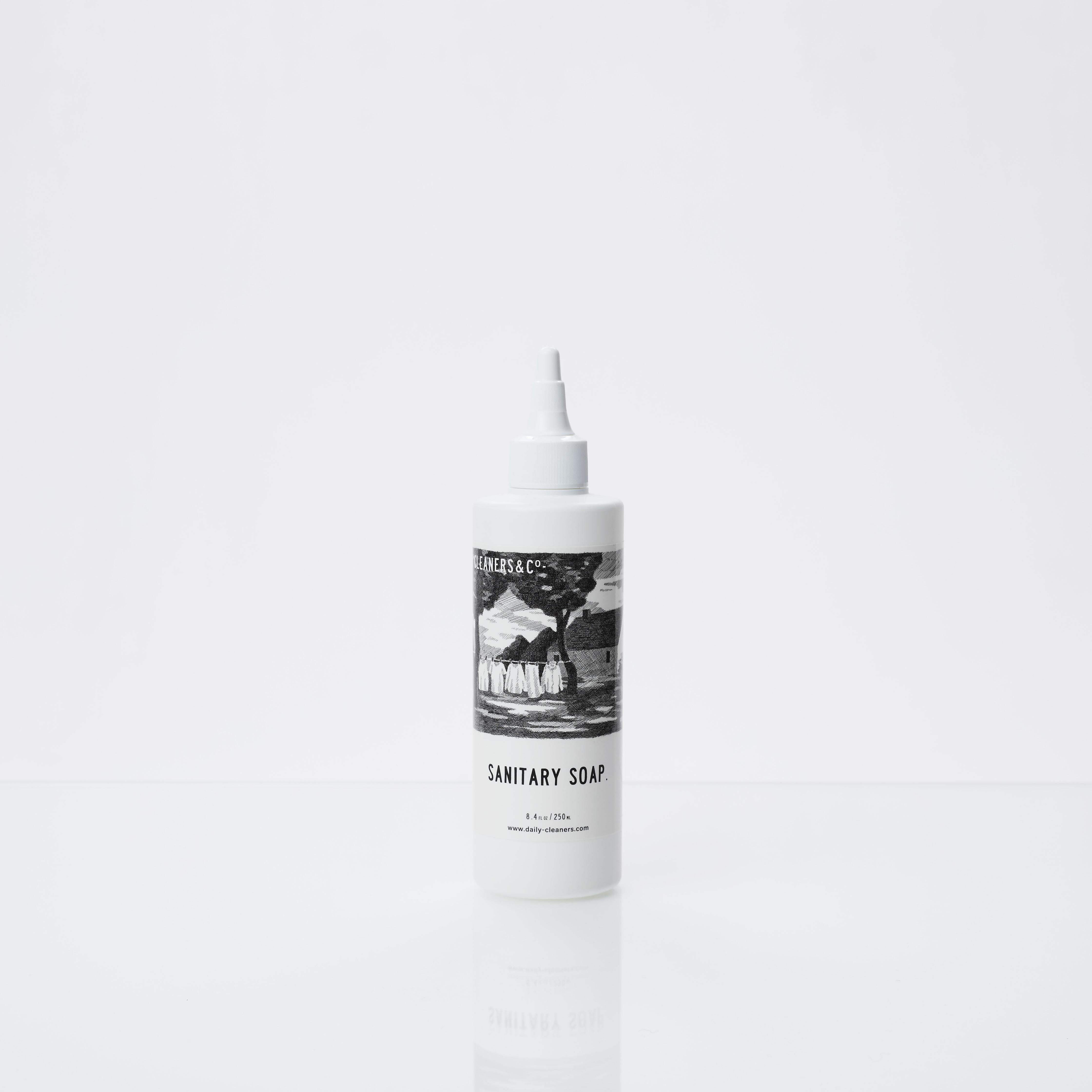 SANITARY SOAP _ 血液・タンパク質汚れ専用洗剤