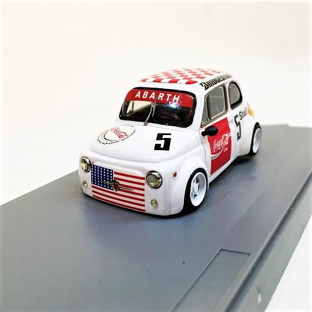 FIAT500 ABARTH GR.5 PALLINO  1/43 【SHMR】【1セットのみ】【税込価格】