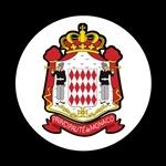 ゴーバッジ(ドーム)(CD0809 - FLAG Monaco Coat of Arms) - 画像1