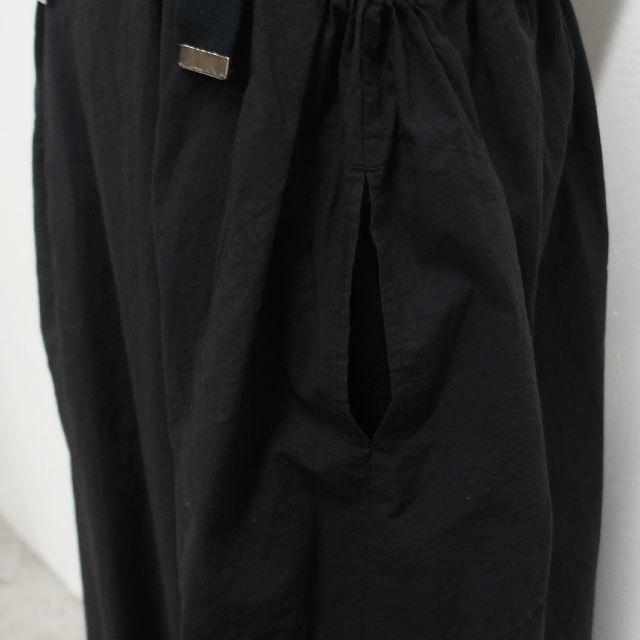 RaPPELER ラプレ 2WAYサロペットパンツ BLACK ブラック レディース サロペット パンツ コットン 強撚タイプライター 通販 (品番rp191-07016)