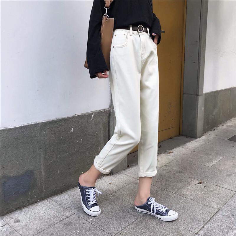 ストレートクロップドパンツ 【street croped pants】