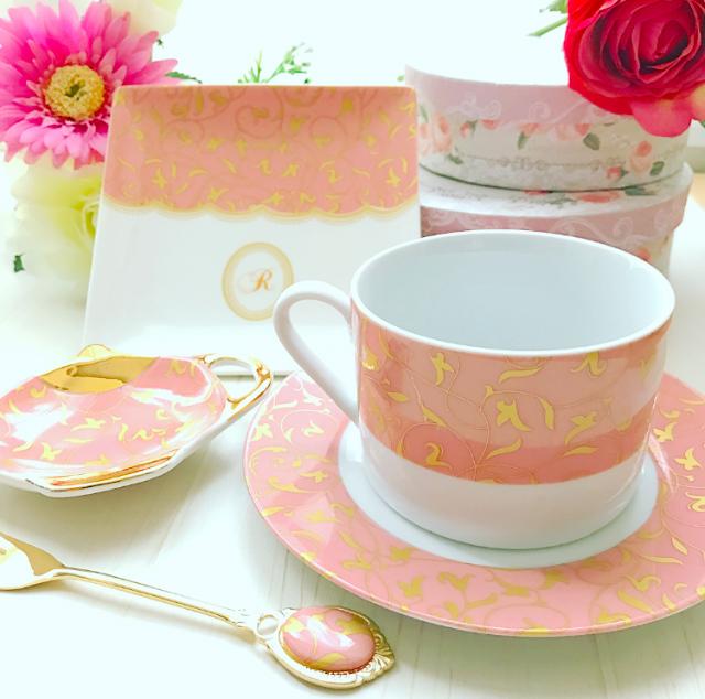 パステルアラベスク転写紙  ピンク A3サイズ(ポーセリンアート用転写紙)